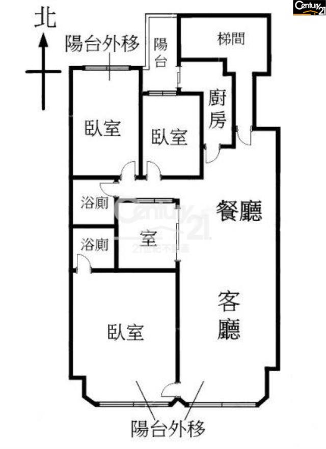 歌林全新裝潢4房~有車停