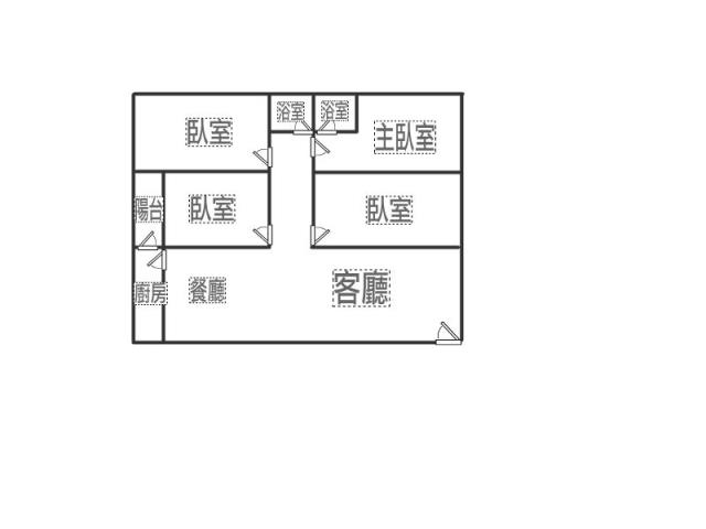 內壢高中電梯4房+車位