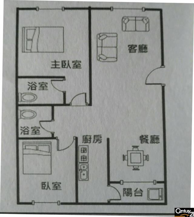房屋買賣-桃園市平鎮區買屋、賣屋專家-專售南勢優質大二房,來電洽詢:(03)280-6777