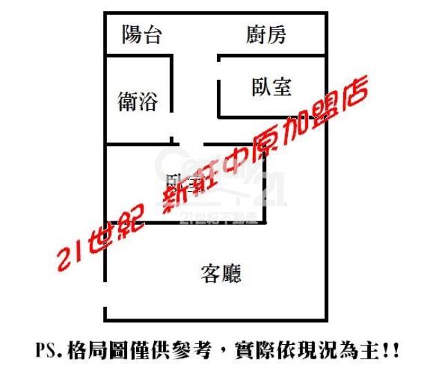 房屋買賣-新北市新莊區買屋、賣屋專家-專售首購2房-A68,來電洽詢:(02)2277-2345