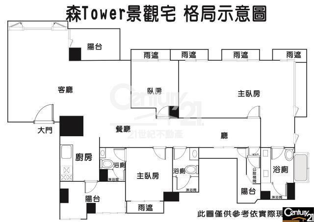 房屋買賣-新北市林口區買屋、賣屋專家-專售森TOWER邊間景觀宅,來電洽詢:(02)2603-8899