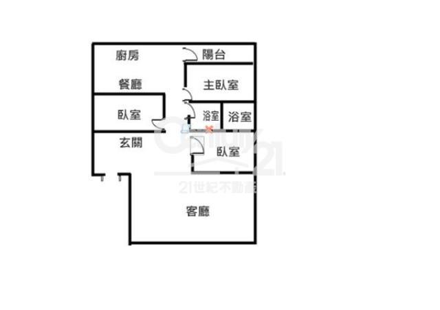L044.徐匯捷運三房