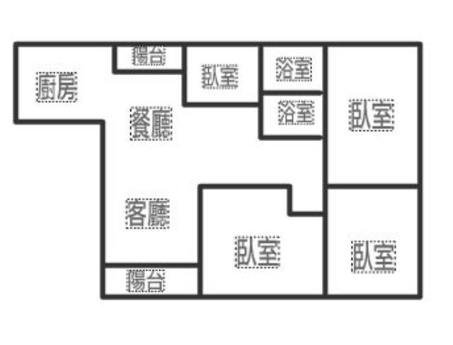 AA375-正宜大3+1房華廈