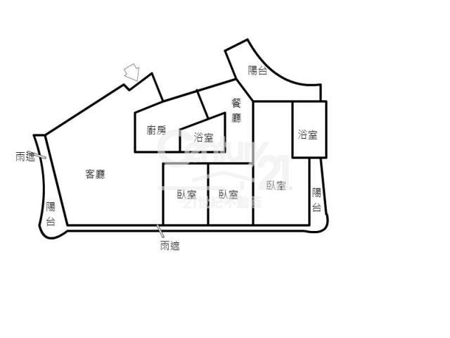 房屋買賣-新北市淡水區買屋、賣屋專家-專售紅樹林捷運海頓二樓,來電洽詢:02-26269998