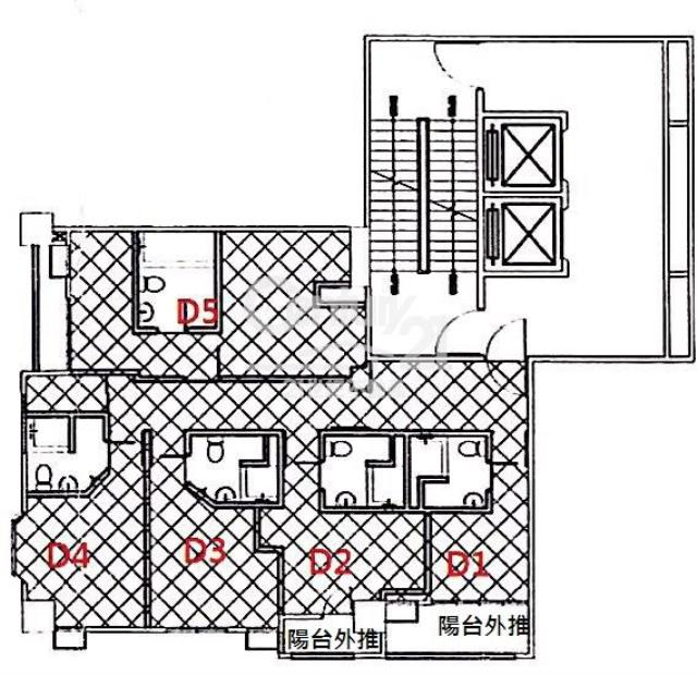 五期電梯整層套房