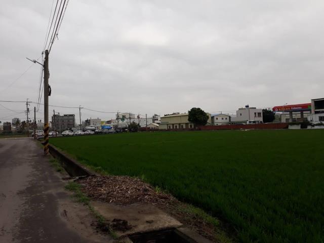 善化陽明路雙面路農地