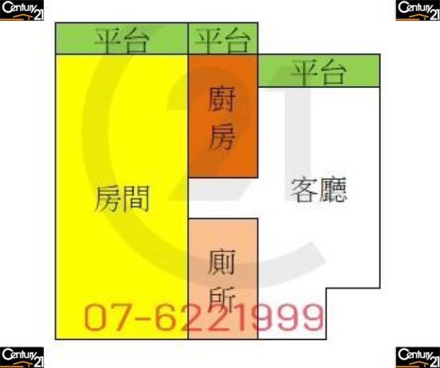 房屋買賣-高雄市岡山區買屋、賣屋專家-專售岡山超越小資華廈,來電洽詢:07-6221999